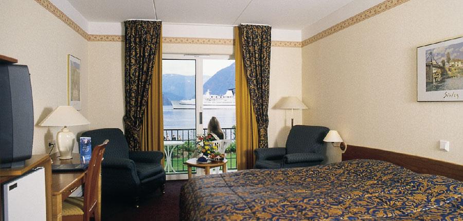 Brakanes Hotel, Ulvik, Norway - Typical bedroom overlookin.jpg